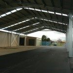 Loading Shelter 18.5x43x5.5m 15 degree gable