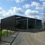 Farm Shed 9x15x3.5m 3 degree gable