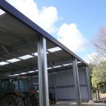 Implement Shed 9x15x3.5m 3 degree mono