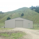 Farm Shed 12x15x3m 15 degree gable