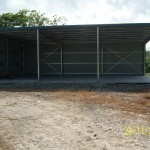 Shed 9x15x3.5m 3 degree mono