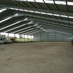 Horse Arena 30x65x4.4m 15 degree gable