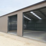 Shed12x20x4.2m 15 degree gable