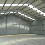Shed 12x20x4.2m 15 degree gable