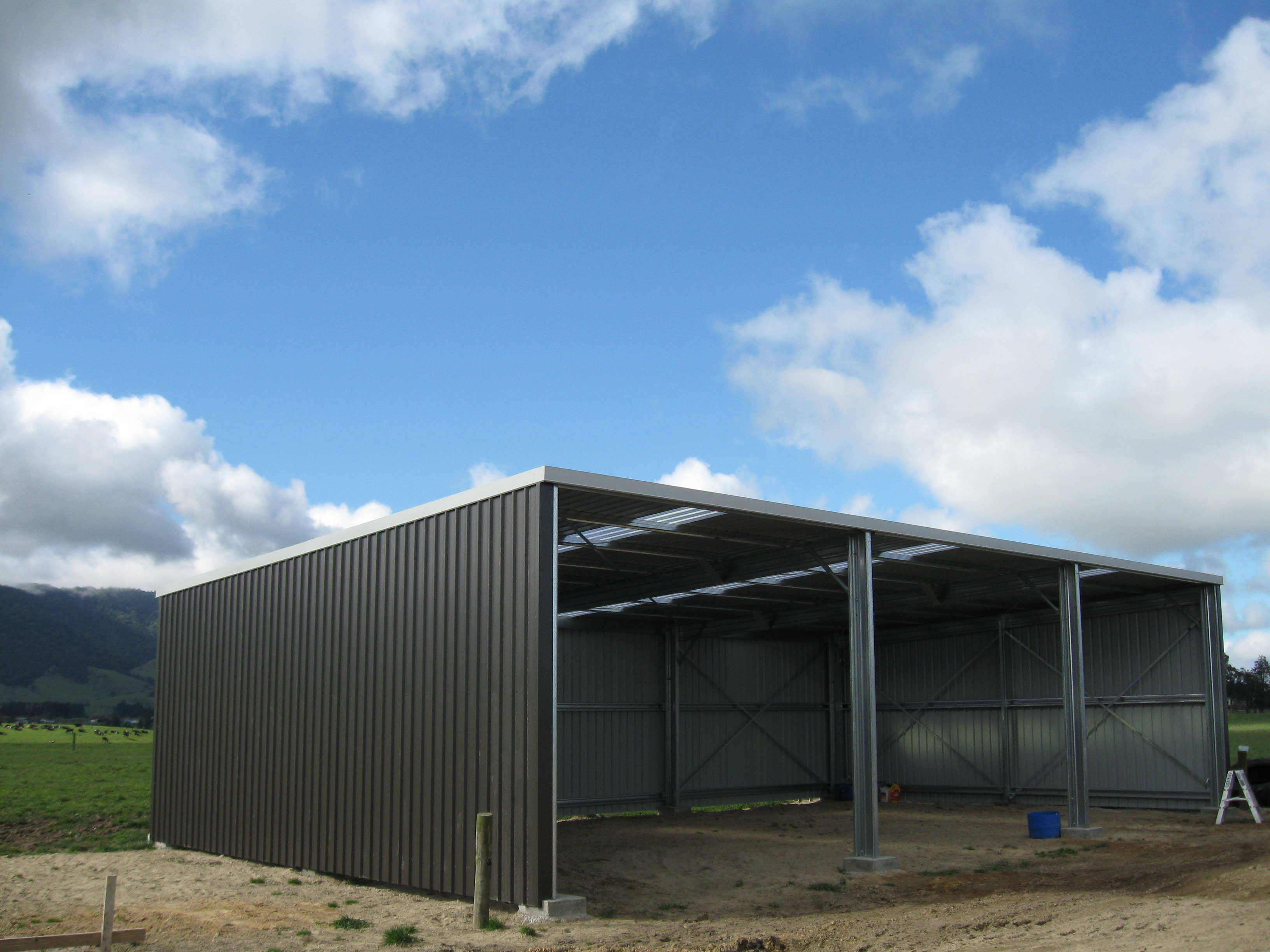 Orielly Open Front Durobuilt Steel Sheds