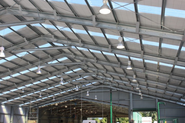 Thomsons Timber Truss Factory 30x40x5m 15 Degree Gable