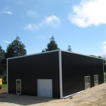 Shed 9x20x5m 3 degree Mono