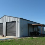 Shed 9x16x3.6m 15 degree gable