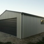 Garage 6x6x2.4m 15 degree gable