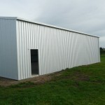 Workshop 12x15x4m 15 degree gable