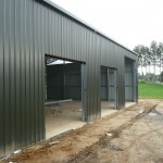 Shed 12x20x4.8m 15 degree gable