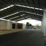 Loading Shelter 18.5x43x5.5m 15 degree gable