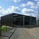 Farm Shed 9x15x3.5m 3 degree gable