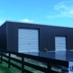 Shed 7x11x3.2m 3 degree mono