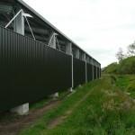 Horse Arena 30x65x4.4m 15 degree gable